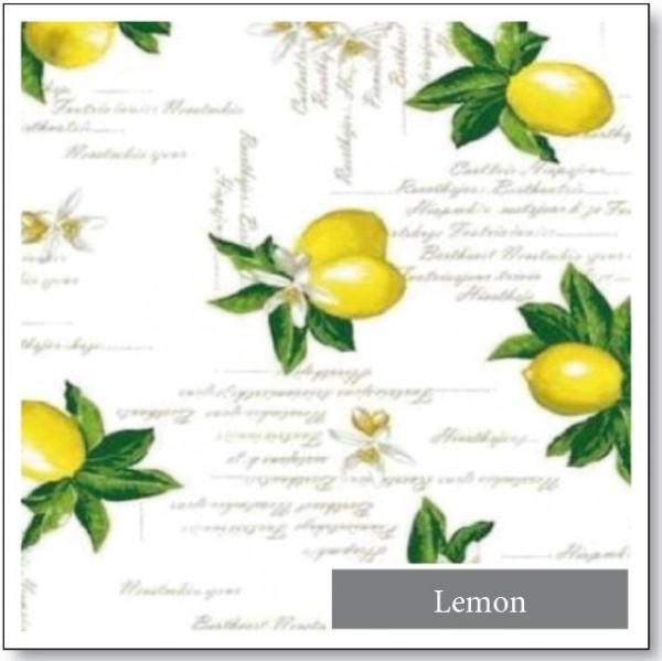 WACHSTUCH Lugana Lemon
