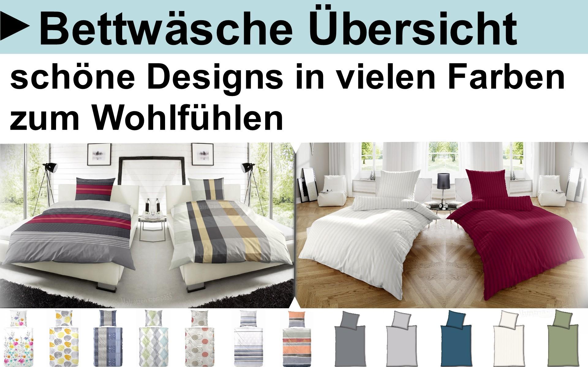 Bettwäsche, Bettbezüge und Kopfkissen Komplett Set sehr gute Qualität
