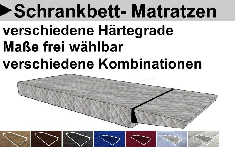 Hier geht`s zu den hochwertigen Schrankbetttmatratzen von Matratzen Compass - Maße können Sie selbst bestimmen