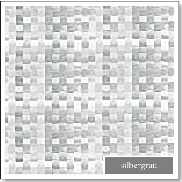 WACHSTUCH Silbergrau