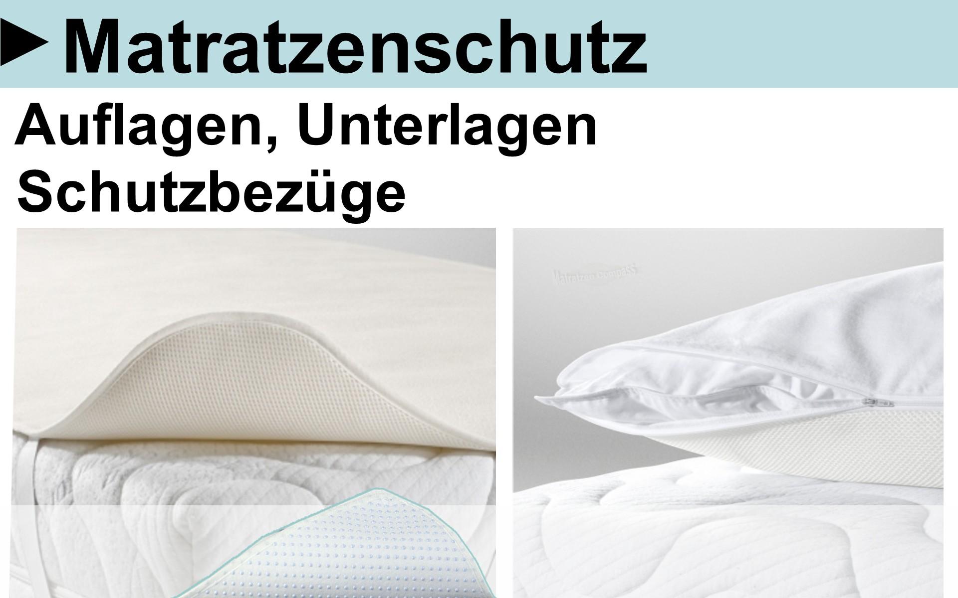 Matratzen Schoner, Matratzen Auflagen, Matratzen Unterlagen, Schutzauflagen für Matratzen