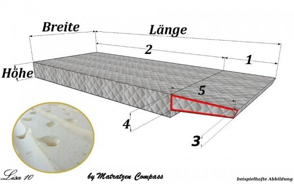 Original Schrankbettmatratze Lisa 10 mit Latexkern