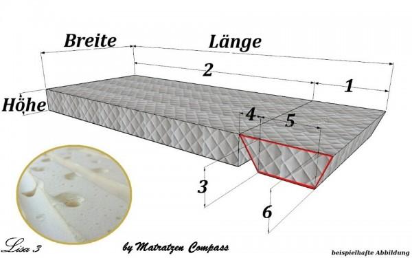 Original Schrankbettmatratze Lisa 3 mit Latexkern