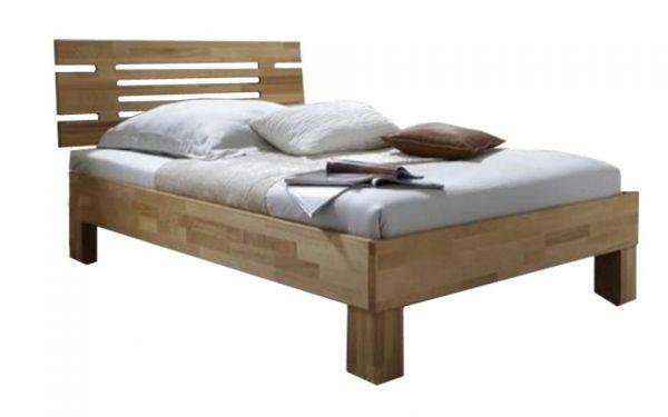 Holzbettgestell San Remo 160x200 cm Kernbuche massiv geölt