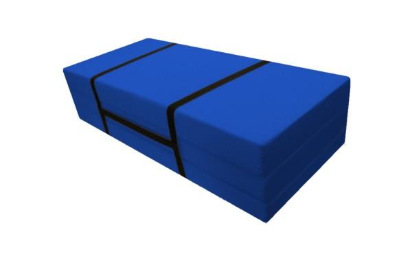 Faltmatratze_Gästebett 140x186 cm Blau Pisa