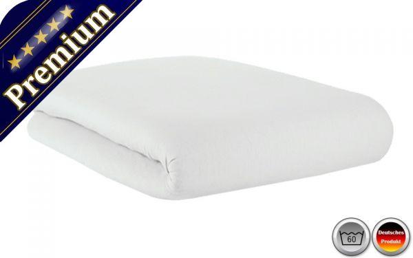 Spannbetttuch Premium Weiß